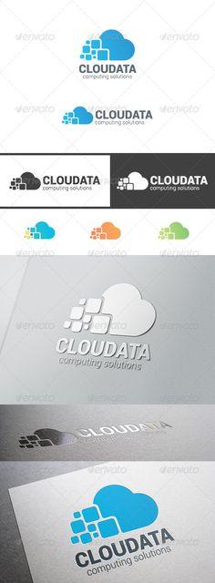 Cloud Computing Data Logo - Symbols Logo Templates