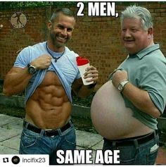 Same age, Huge difference.