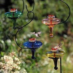 Bebederos para colibris bebedero y comederos para for Bebederos para aves jardin