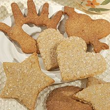 Chewy Oatmeal Decorating Cookies – easy to roll and cut out with your favorite shaped cutter.