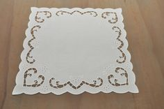 handmade Richelieu embroidery table runner by RichelieuArt on Etsy