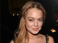 Pinner said: Oprah asks Lindsay Lohan: 'Are you an addict?' Oh Snap