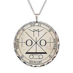 Seal of Archangel Raguel Necklace on CafePress.com