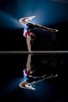 Senior Portrait / Photo / Picture Idea - Girls - Gymnastics / Gymnast