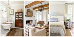 A rustic Tenessee home showing how to make white look cozy