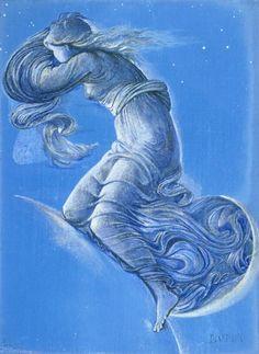Luna - Edward Burne-Jones