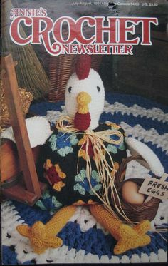 Annies Crochet Newsletter Booklet by TheHowlingHag on Etsy