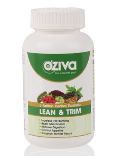 OZiva Lean & Trim, Natural Fat Burner with Power of 5 Herbs ( Garcinia, Rasberry Ketone, Ginseng, Hoodia, Green Tea Extract) - 120 Tablets - The biggest Health and Beauty Products screw ups of all time