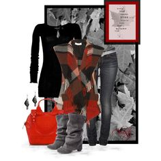 """Autumn Leaves"" by chasity-conner-whittington on Polyvore"
