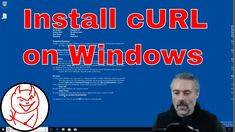 Install cURL from official site on Windows - How to install cURL on Windows https://youtu.be/YgAo7oXeV0M
