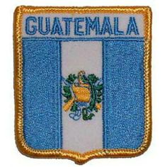 """Guatemala Shield Patch 2 1/2"""" x 3"""" . $8.99. This is a new Guatemala Shield Patch 2 1/2"""" x 3"""""""