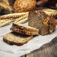 This homemade millet bread can be made from the millet you grow in your own garden or small farm.data-pin-do= Millet Bread, Millet Flour, Barley Flour, Bread Recipes, Real Food Recipes, Baking Bread At Home, Cranberry Bread, Baking Company, Dessert Bread