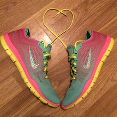 Girls' Grade School Nike Free Run 5 Running Shoes?| FinishLine.com | Cool Grey/Pink Foil/White/Black