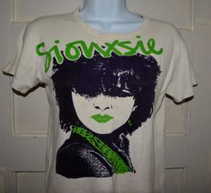 Vintage Siouxsie and the Banshees T-shirt Small or by AmandaUntil