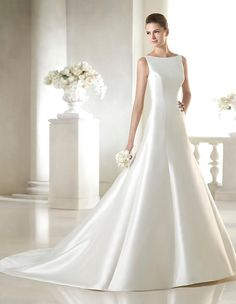 Introducing our San Patrick 2015 Collection by Pronovias. Exclusive designer wedding dresses for all our trendy/chic brides. Sheath Wedding Gown, Pronovias Wedding Dress, Lace Wedding Dress, 2015 Wedding Dresses, Princess Wedding Dresses, Bridal Dresses, One Shoulder Wedding Dress, Wedding Gowns, Bridesmaid Dresses