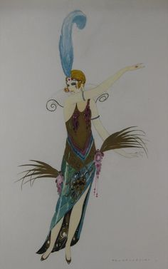 Umberto Brunelleschi, Italian, 1879-1949, Painter's Women, signed