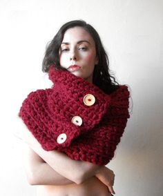 This Etsy store has lots of things big and chunky, warm and cozy. And a lot of it is 50% off. Great Christmas ideas -- I wanted to pass them along.