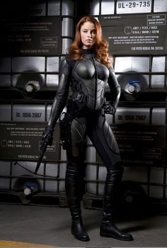Scarlett (Rachel Nichols) - G. Rachel Nichols, Scarlett O'hara, Bd Comics, Comics Girls, Gi Joe Movie, Jolie Photo, Cosplay Girls, Cosplay Costumes, Hot Girls