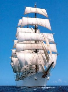 Navi e Velieri - I velieri moderni - Libertad Architecture Tattoo, Art And Architecture, Old Sailing Ships, Sail Away, Submarines, Sea World, Tall Ships, Model Ships, Paris Travel