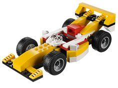 Fais la course sur le circuit avec cette machine de course 3 en 1 !