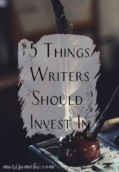 If you're planning on writing your novel in here are 5 things writers should invest in. You don't have to spend money. You can invest with time. Writing Images, Book Writing Tips, Writing Process, Writing Quotes, Writing Resources, Writing Skills, Writing Workshop, Writing Ideas, Fiction Writing