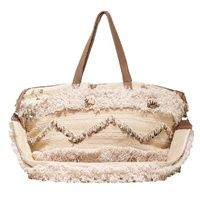 Hamimi Kenifra Overnight Bag - Tan   Cream Cream 3578e10897149