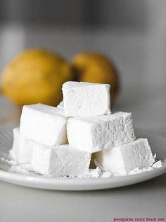 Lemon Sherbet Marshmallows 03 by penguin says feed me, via Flickr