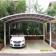 Metal canopies are an option for a carport canopy and our selection of metal car & Outdoor Carport Canopy Portable Car Ports Garage Awning Porch Rain ...