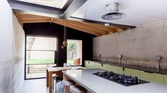 Balham House interior by Simon Astridge. See more architecture and design movies at dezeen.com/movies  Architect Simon Astridge employed a v...