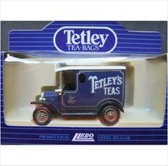 Lledo Promotional Ford Model T Van - Tetley Tea Bags on eBid United Kingdom Tetley Tea, Online Marketplace, Ford Models, Food For Thought, United Kingdom, Van, England, Vans