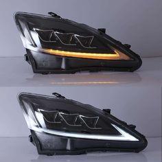 LEXUS IS Headlights 2006-2012 – Motowey Interior Accessories, Car Accessories, Projector Lens, Lexus Is250, Bmw E60, Led Headlights, Super Cars, Auto Accessories