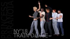 🚂 TRAIN DANCE5 modular poses  You will need:  • Pose Player  • Teleport Any Sim mod  [DOWNLOAD]