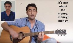 Junior doctor's protest song sweeps the internet