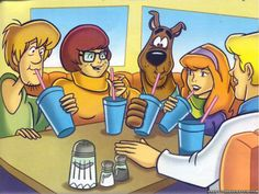 scooby doo wallpapers character backgrounds coloring pages the gang