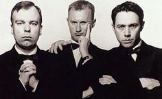 The League Of Gentlemen - Steve Pemberton, Mark Gatiss and Reece Sheersmith