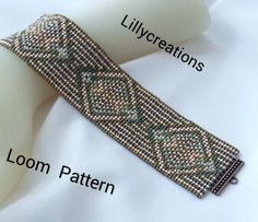 Loom Pattern 2005 by LillyCreations on Etsy