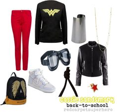 """Cassie Sandsmark (Wonder Girl)"" by redcarpetsuperhero on Polyvore"