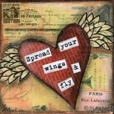 hearts in mixed media - Yahoo! Image Search Results