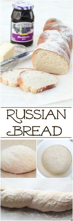 Russian Bread Recipe. ValentinasCorner.com