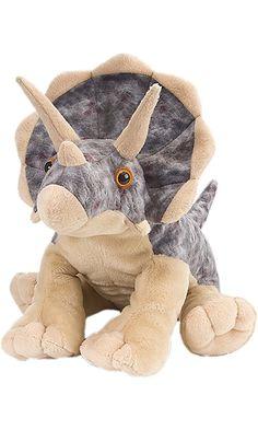"Wild Republic Cuddlekin Triceratops 12"" Plush Best Price"