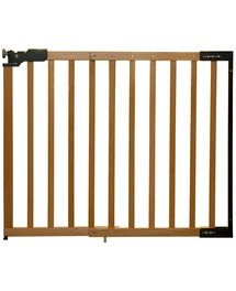 Prenatal houten traphek blank. Deze traphek biedt extra veiligheid in huis. D...
