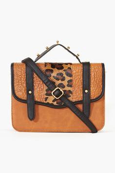 Wild Stripe Messenger Bag