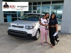 Congratulations To Ayesha Shareef On The Purchase Of Her NEW 2018 Kia Soul. KIA  AutoSport Of Pensacola And Awais Mughal Thank You So Much For Choosing KIA  ...