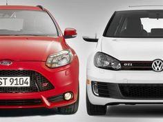 Hot Hatch Faceoff: Focus ST Vs. VW GTI