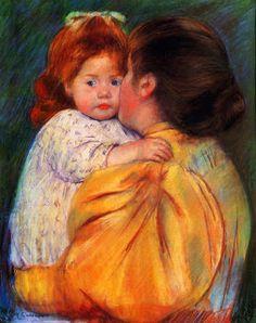 color y forma: LA OTRA MITAD DEL IMPRESIONISMO (Berthe Morisot y Mary Cassatt)