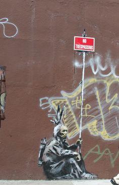 Banksy Banksy art street wall graffiti