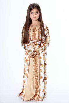 Little princess in autumn colored INESINO dress