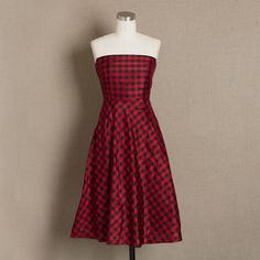 Plaid Bridesmaid Dresses  Christmas parties For women and Wedding