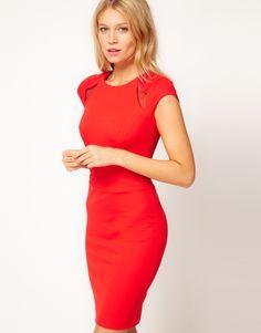 la femme en rouge :-)