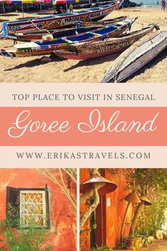 I visited Goree Island in Senegal on a two day layover and enjoyed wandering down its picturesque sandy streets and watching local life unfold. Africa Destinations, Amazing Destinations, Travel Destinations, The Beautiful Country, Travel Guides, Travel Tips, West Africa, Africa Travel, Beautiful Islands